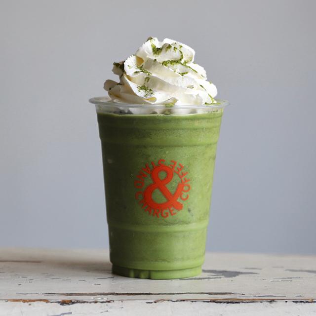 濃厚緑茶フローズンシェイク